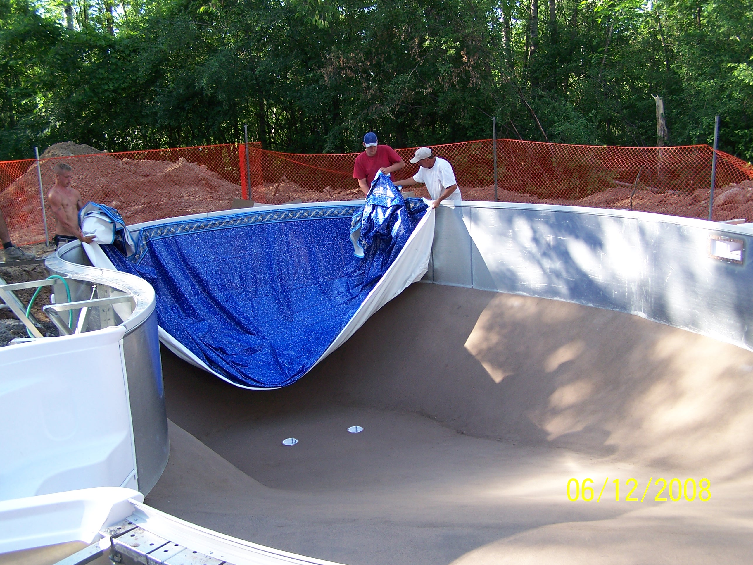 Installing Your Inground Pool What To Expect Part 2 Thetarsonbellyflop