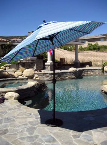 Galtech Umbrellas, tarson pools syracuse NY